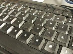 Logitech ultra-flat keyboard replacement key