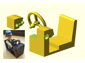 Parametric Playmobil Driver's Seat