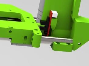 x carriage acc12 goliat+e3dLite+opto ready (Mendel90)