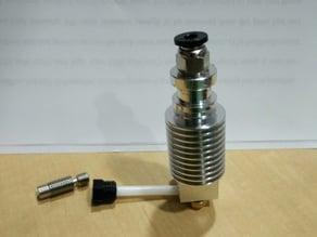 E3D clone M6 thread bowden to direct adapter