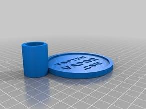 TopTenVapor.com drink coaster and e-cig holder 1