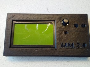 Full Graphic Smart Controller LCD12864 housing