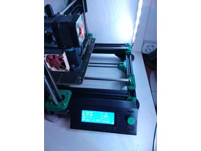 LCD Side Mount for Prusa Bear Upgrade