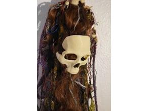 Skull hairpiece