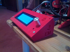Simple LCD case