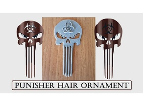 Punisher Hair Ornament Remix