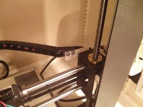 X Cable Chain Relief- Duplicator i3 Wanhao