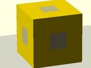 Multi-Part Calibration Cube
