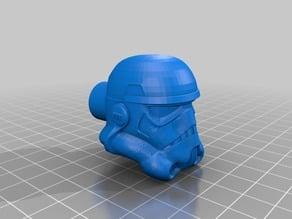 Storm Trooper Helmet Cabinet and Drawer Knob