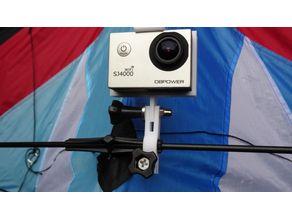 Flight kites Action camera holder