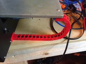 printrbot play heated bed cable chain