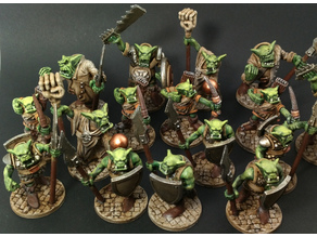 The Orc Horde Based and Supported