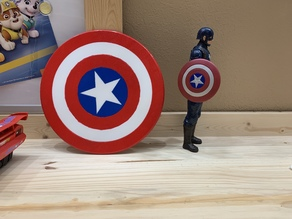 Captain America Shield (wearable)