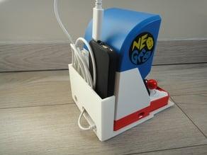 Dock Case for battery neogeo mini