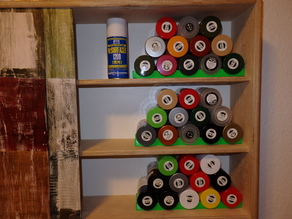 Storage for Tamiya Spray Cans