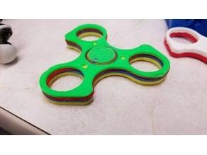 Multi-Colored Tri Spinner