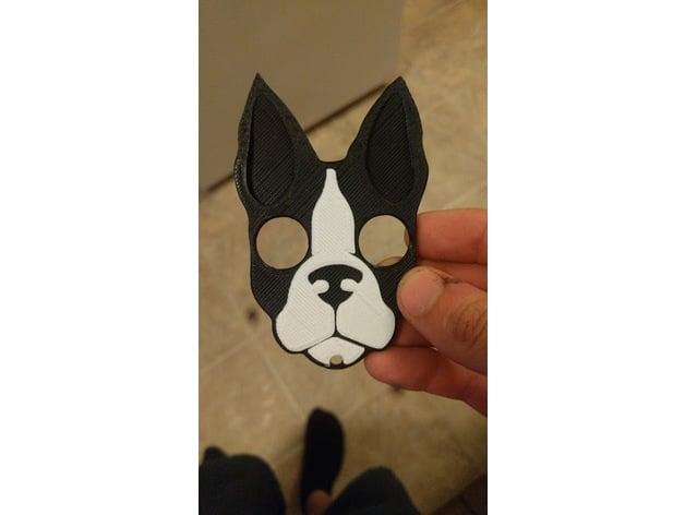 Dog Self Defense Keychain By Electricbeard Thingiverse