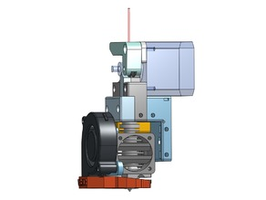 Direct drive extruder and cooling - CTC i3