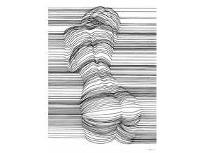 Sensual 3D Line Art by Nester Formentera