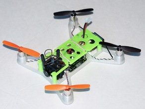Micro H-Quadcopter FPV Top Plate