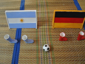 3DShilp World Cup Finger Soccer / Football