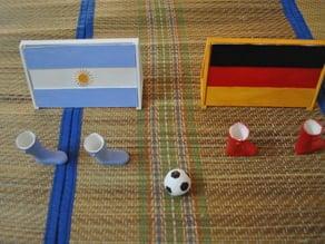 3DShilp World Cup Finger Soccer / Football