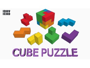 [1DAY_1CAD] CUBE PUZZLE