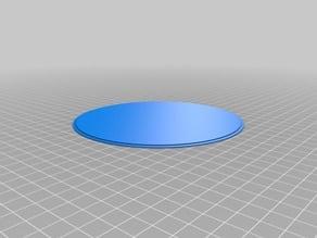 Parametric Light Fixture Lens Cover for Overhead Lights
