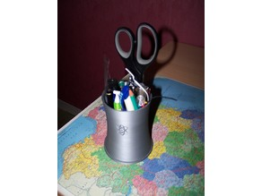 Simpson Nuclear Plant Cooler - Pencil cup - pot à crayon Simpson