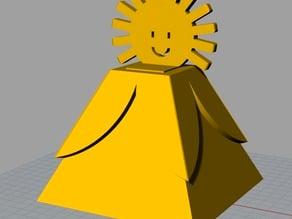 Weather Vase 5-year-old designed