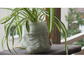 Stormtrooper Flower Pot