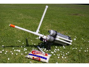 Full/Semi Auto Mini Marshmallow Gun - Compressed Air - 1 Week Classroom Project