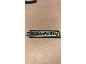 Ironman btw keychain (Runescape)