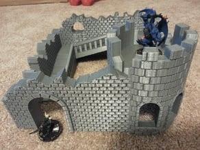 Wargame Castle Ruins