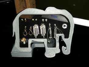 Elephant Earring Holder