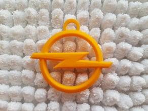 Opel logo keychain