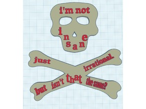 Poison by Cavetown Quote skull and crossbones