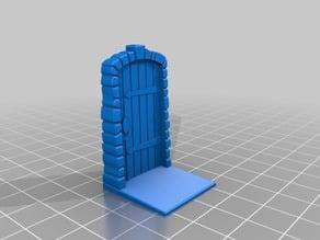Freestanding Dungeon Door (Remix of Isolt's Zombicide Door)