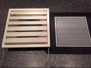 Ventilation Grid 12 cm