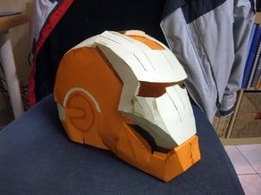 Pepakura IronMan helmet