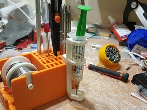 Solder Station Organizer Flux tube holder