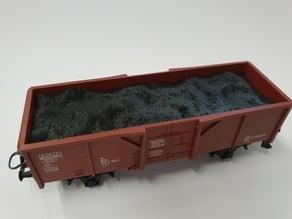 H0/HO Coal cargo / Kohle Ladung