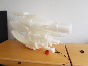 1:1 SCALE ZF1 REMIX FOR PRINTERS 300 X 300 X 400 (JUST 4 PARTS)