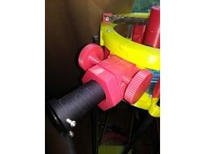 telescope focusing knob