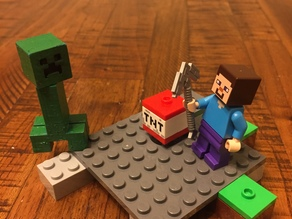 Lego compatible Creeper