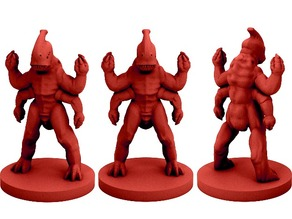 Extraterrestrial Bio-Weapon (18mm scale)