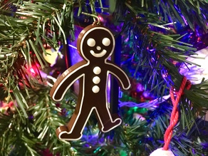 Gingerbread Person Ornament
