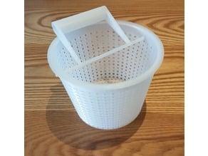 Skimmer Basket (remix with glued lid)