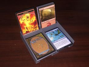 MTG Card Holder and Land Counter