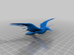 Dove Reduced For Tinkercad